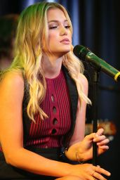 Olivia Holt - Q102 iHeartRadio Performance Studio in Bala Cynwyd, Pennsylvania 8/11/2016
