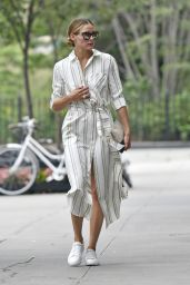 Olivia Palermo - Out in NYC 8/16/2016