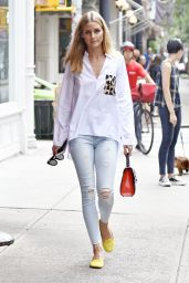 Olivia Palermo - Out in NYC 8/19/2016