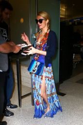 Paris Hilton at Los Angeles Airport 8/23/2016