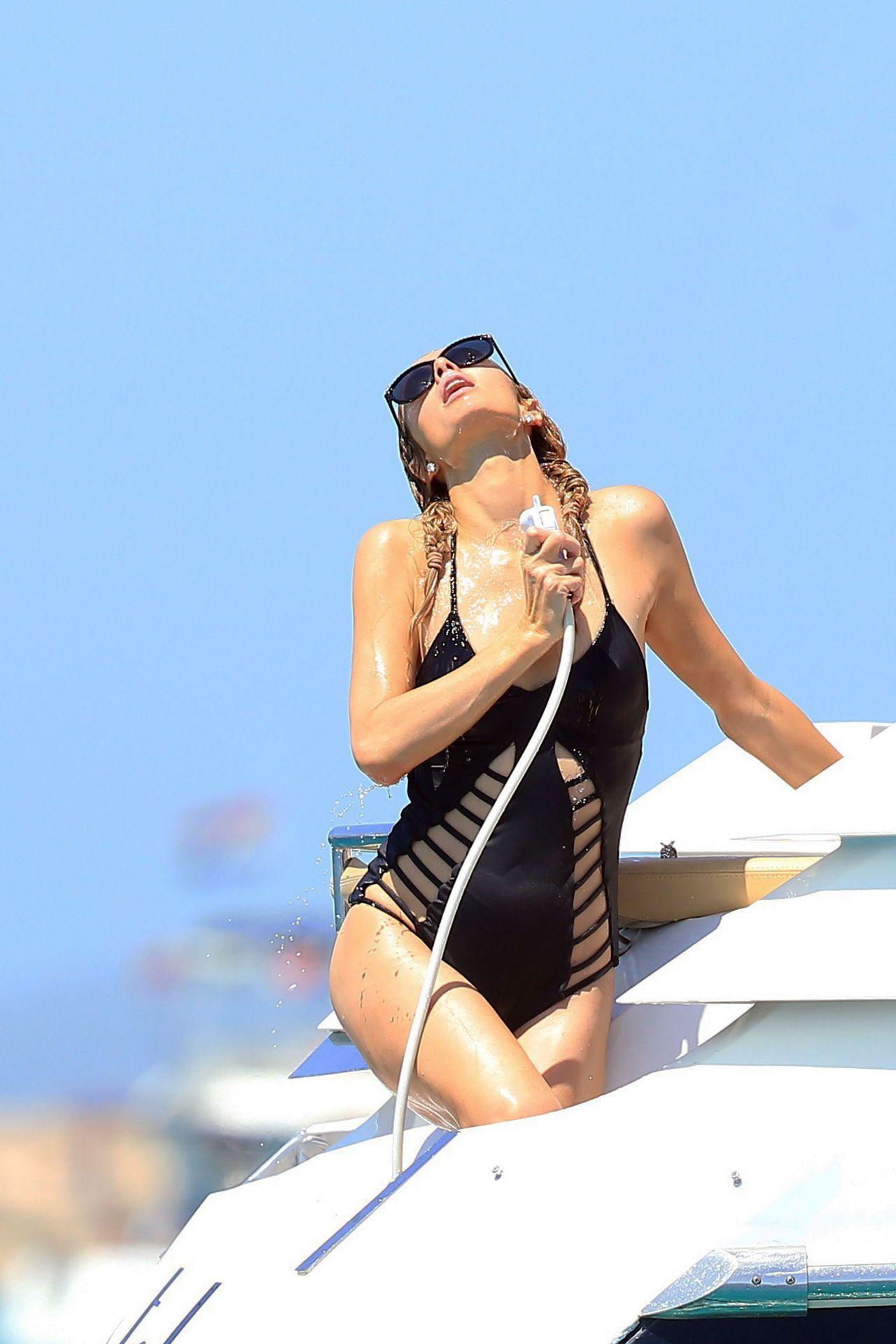 Paris Hilton In Swimsuit Ibiza 812016