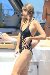 Paris Hilton in Swimsuit in Ibiza  8/1/2016