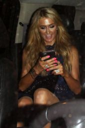 Paris Hilton - Leaving a Party in West Hollywood 8/25/2016