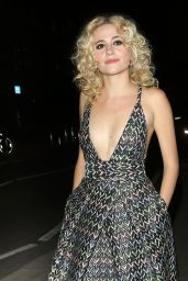 Pixie Lott - Leaving the Hayemarket Theatre in London 8/9/2016