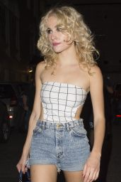 Pixie Lott - Leaving The Haymarket Theatre in London, UK 8/25/2016
