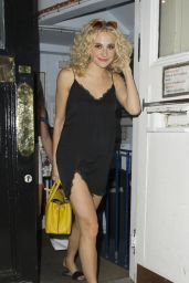 Pixie Lott Night Out Style - London 8/17/2016