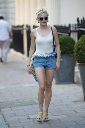 Pixie Lott Shows Off Her Legs - London 8/23/2016