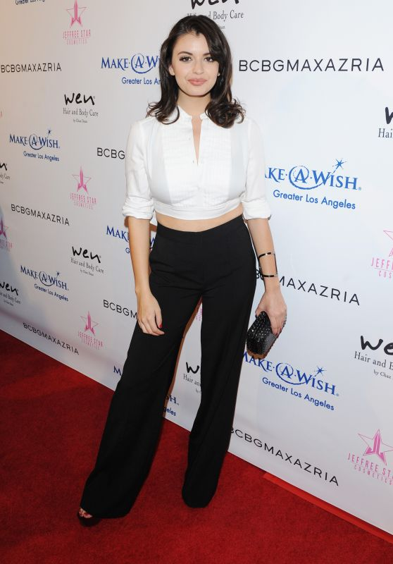 Rebecca Black – BCBG Make-A-Wish Fashion Show in Los Angeles 8/24/2016