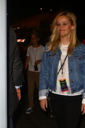 Reese Witherspoon at the Coldplay Concert in Pasadena 8/20/2016