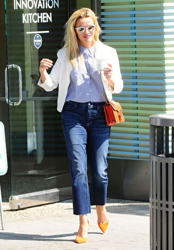 Reese Witherspoon Casual Style - Beverly Hills 8/29/2016