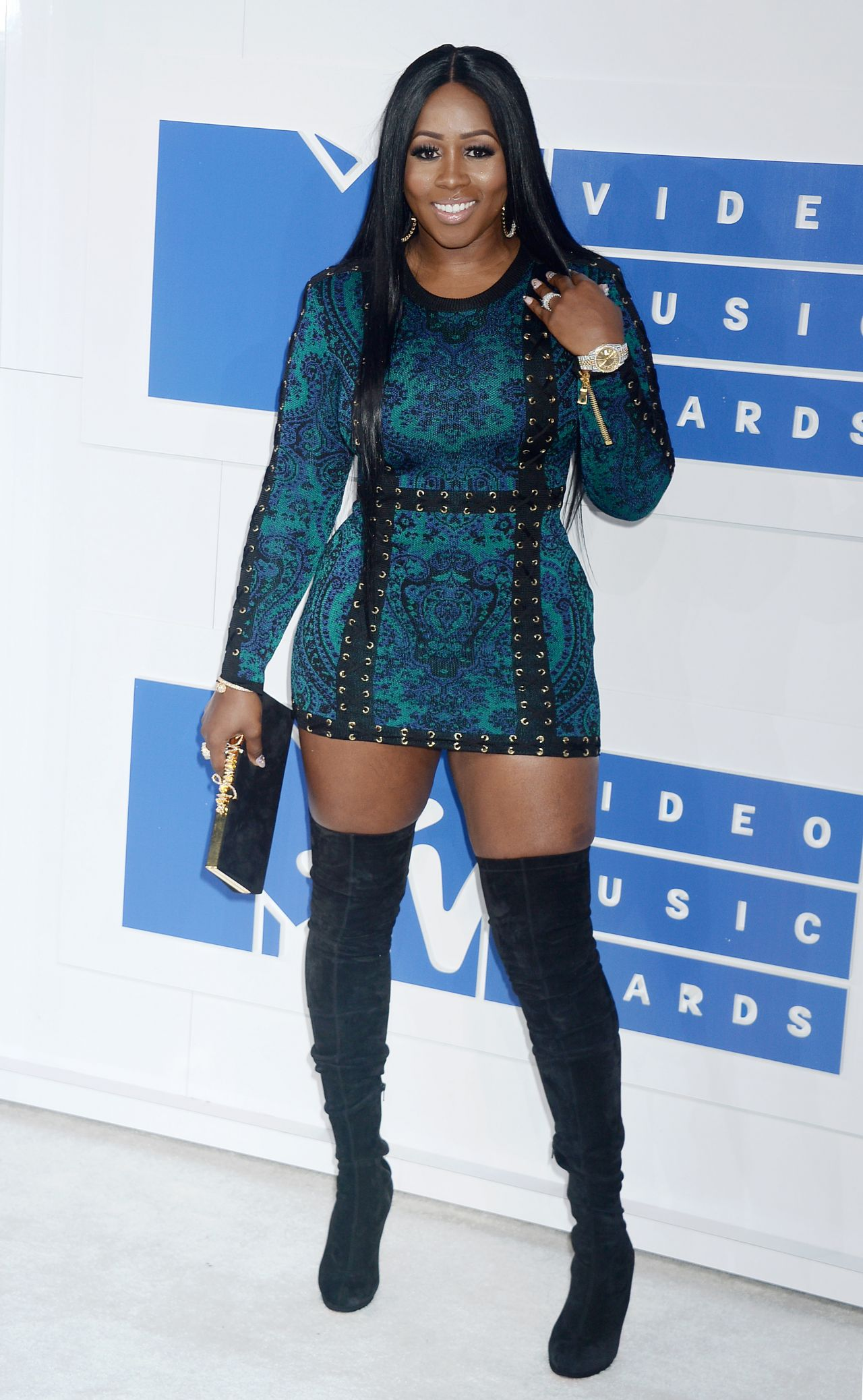 Remy Ma Mtv Video Music Awards 2016 In New York City 8