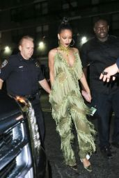 Rihanna Night Out Style - Up and Down Club in New York City 8/28/2016