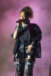 Rihanna Perfoms at V Festival at Hylands Park in Chelmsford, England 8/21/2016