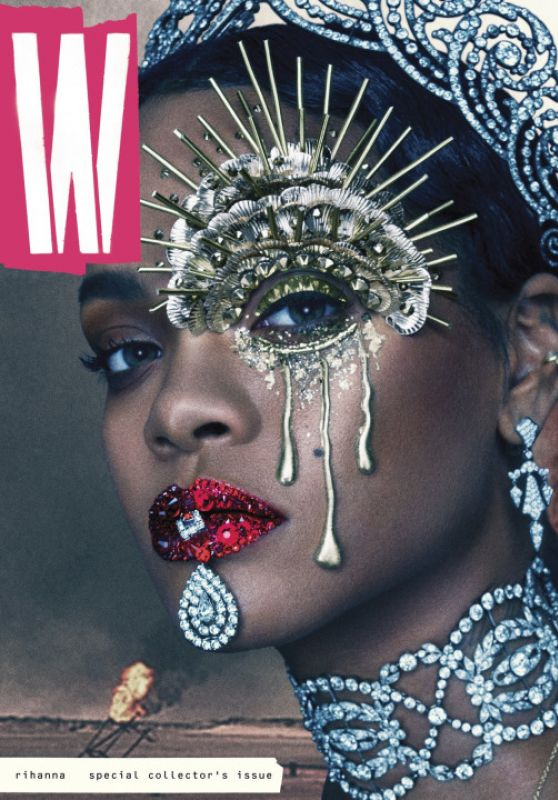 Rihanna - W Magazine The Last Woman of Earth /September 2016