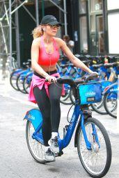 Rita Ora Bike riding - New York City 08/03/2016