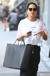 Rita Ora Casual Style - Out in NYC 8/27/2016