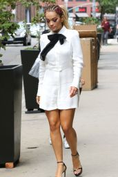 Rita Ora Chic Street Style - Leaves Her Soho Apartment in New York City 8/2/2016