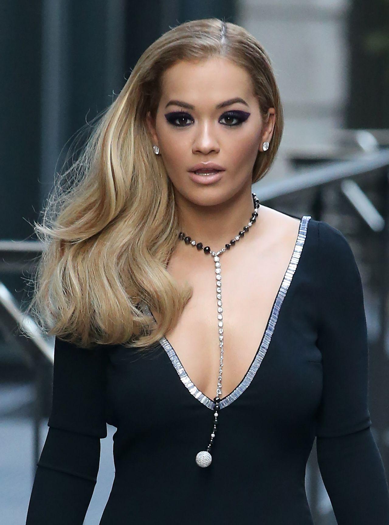 Rita Ora Fashion Shoot Photos: Filming For America's Next Top