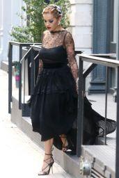 Rita Ora Classy Fashion - Out in New York 8/17/2016