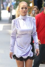 Rita Ora Fashion Star - Out in NYC 8/25/2016