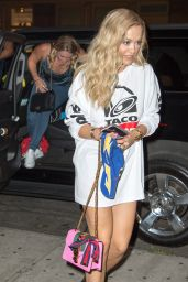 Rita Ora Going to Dinner in New York City 8/23/2016