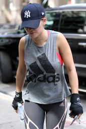 Rita Ora - Heading Out For a Run in New York 8/17/2016