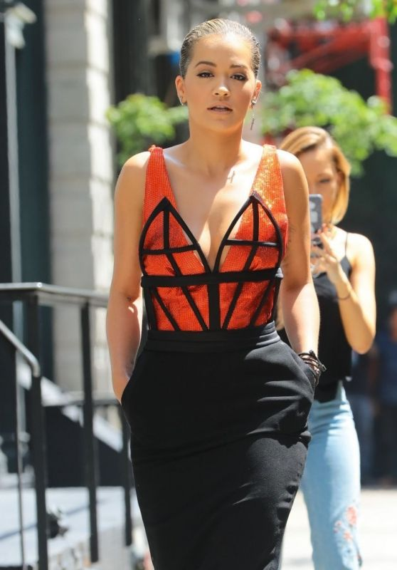 Rita Ora is Looking All Stylish - NYC 8/11/2016