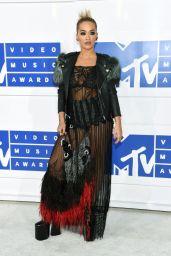Rita Ora – MTV Video Music Awards 2016 in New York City 8/28/2016