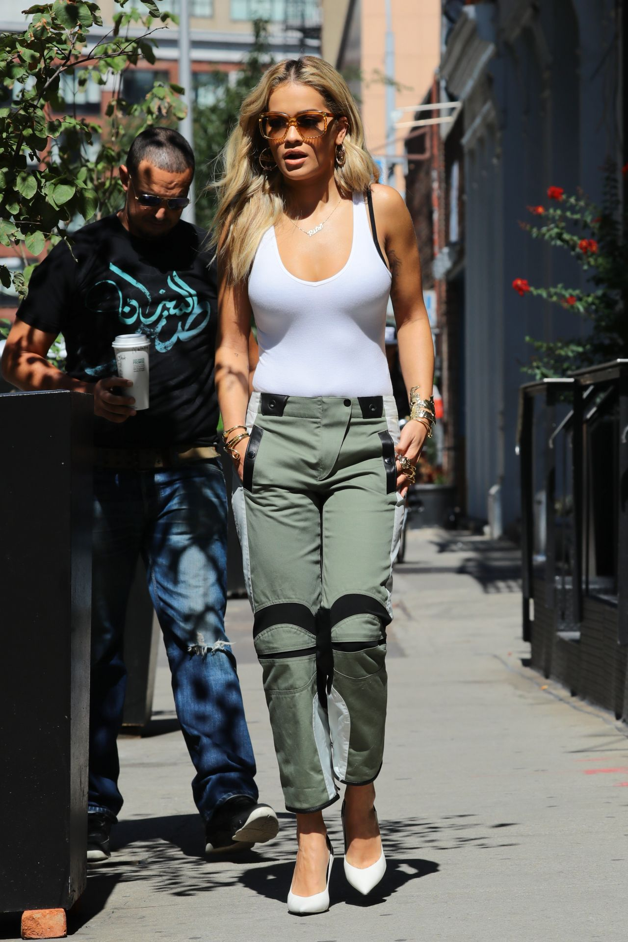 Rita Ora Street Style Out In Nyc 8 9 2016