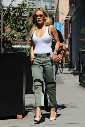 Rita Ora Street Style - Out in NYC 8/9/2016