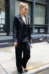 Rita Ora Style Inspiration - Leaving Her Apartment in NYC 8/20/2016