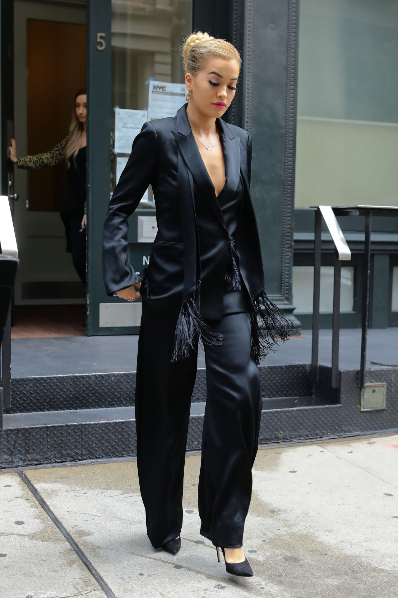 Rita Ora Style Inspiration Leaving Her Apartment In Nyc