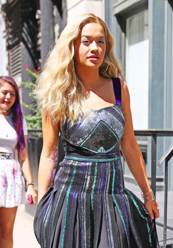 Rita Ora Style - Out in NYC 8/23/2016
