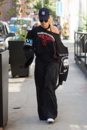 Rita Ora Urban Style - Out in NYC 8/30/2016