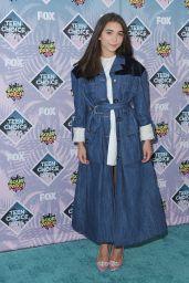 Rowan Blanchard – Teen Choice Awards 2016 in Inglewood, CA