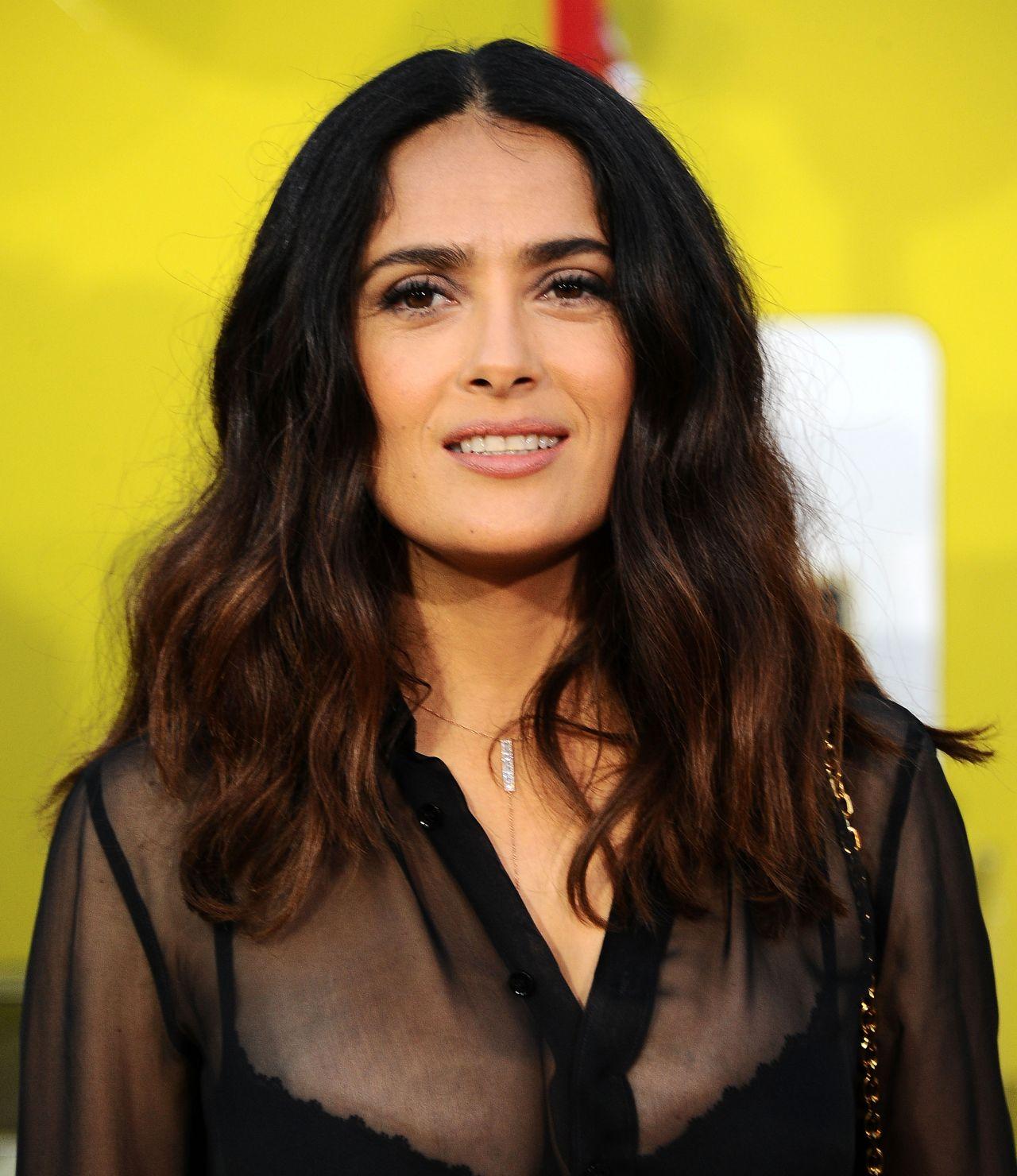 Salma Hayek Sausage Party Movie Premiere In Los