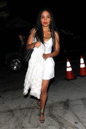 Sanaa Lathan Night Out Style - Hyde Lounge in West Hollywood, CA 8/21/2016