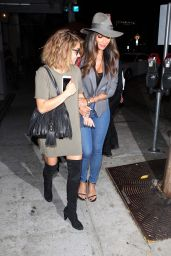 Sarah Hyland and Nicole Scherzinger at Craig