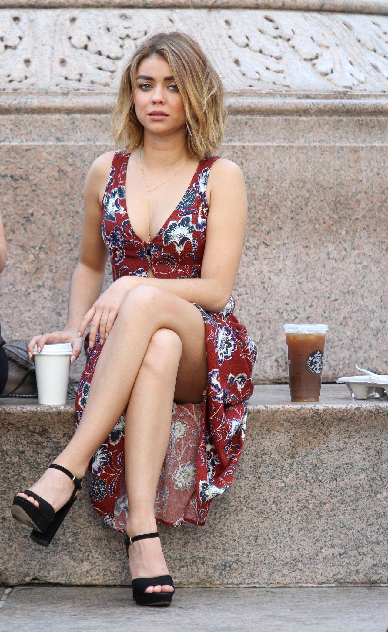 Sarah Hyland - Modern Family Set In Los Angeles 8252016-3004
