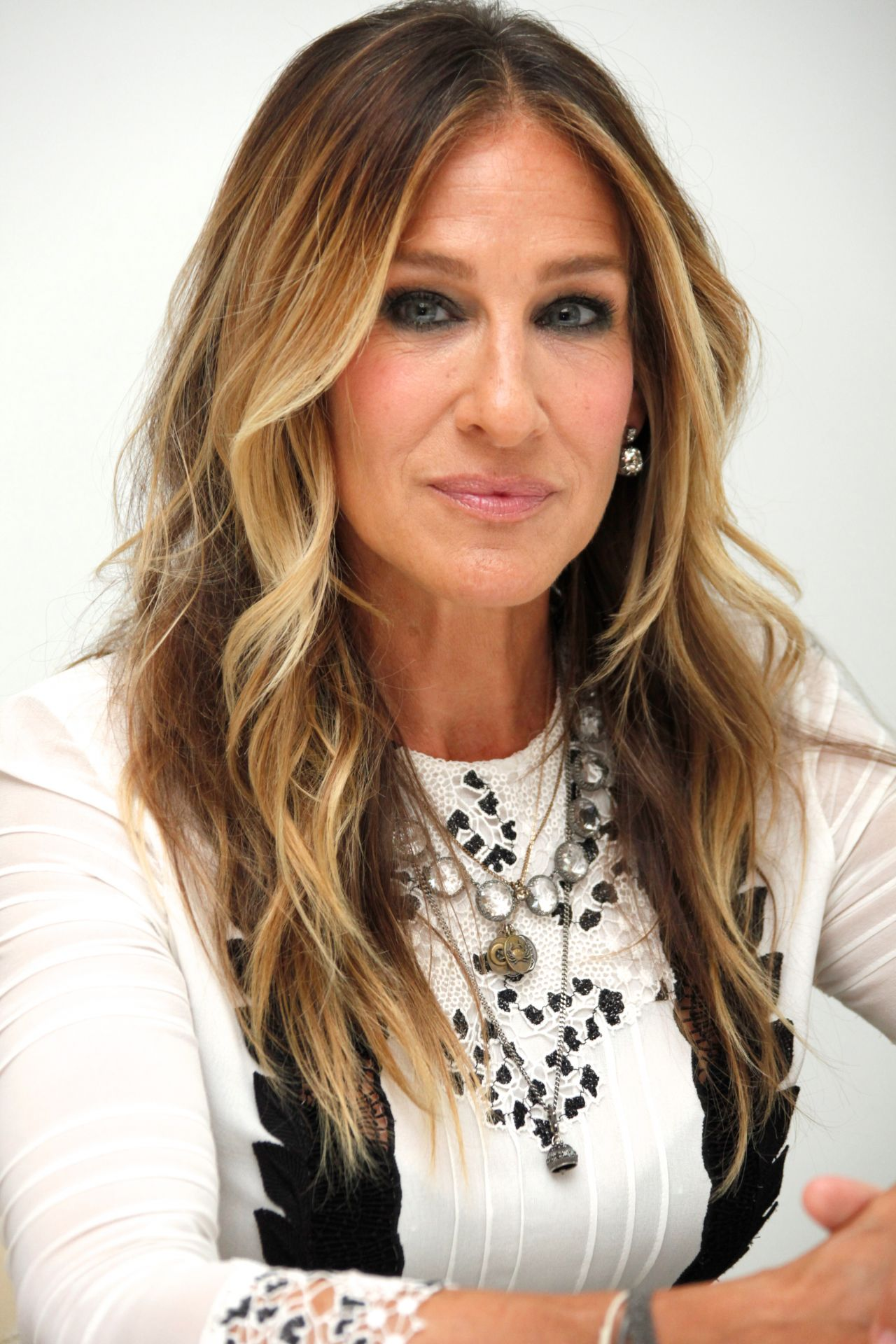 Sarah Jessica Parker At A Press Conference In Beverly
