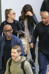 Selena Gomez at Brisbane Airport, Australia 8/12/2016