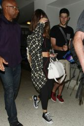 Selena Gomez at LAX Airport in LA 8/14/2016