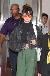 Selena Gomez at Tokyo International Airport 8/1/2016