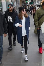 Selena Gomez Casual Outfit - Melbourne 8/5/2016