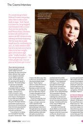 Selena Gomez - Cosmopolitan Philippines August 2016 Issue