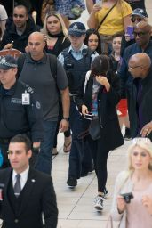 Selena Gomez - Escorted by Police as She Leaves Sydney Airport 8/10/2016