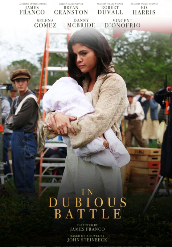 Selena Gomez - 'In Dubious Battle' Poster and Photos 2016