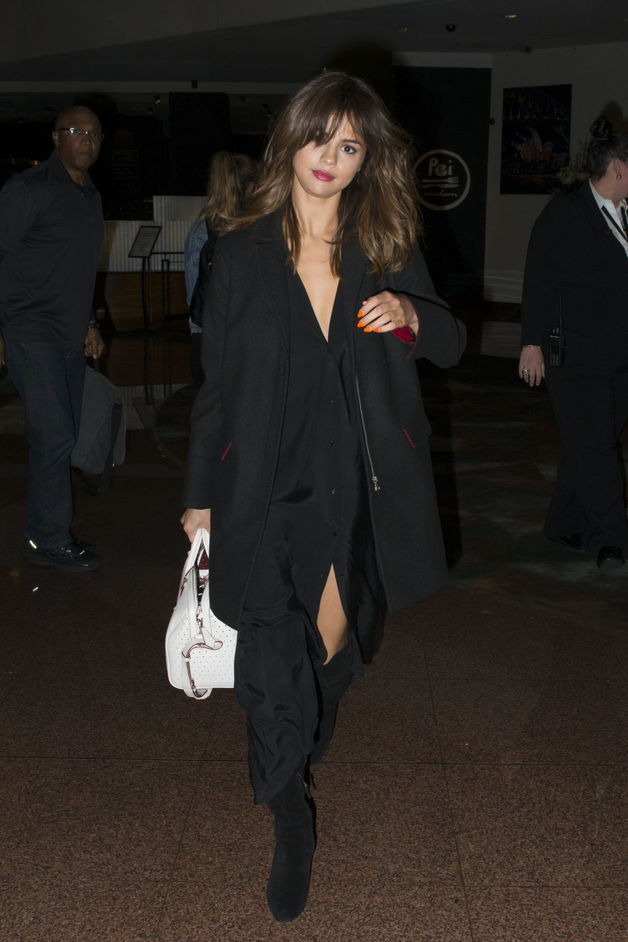 Selena gomez night out style at the park side restaurant in queens nyc nudes (19 pictures)