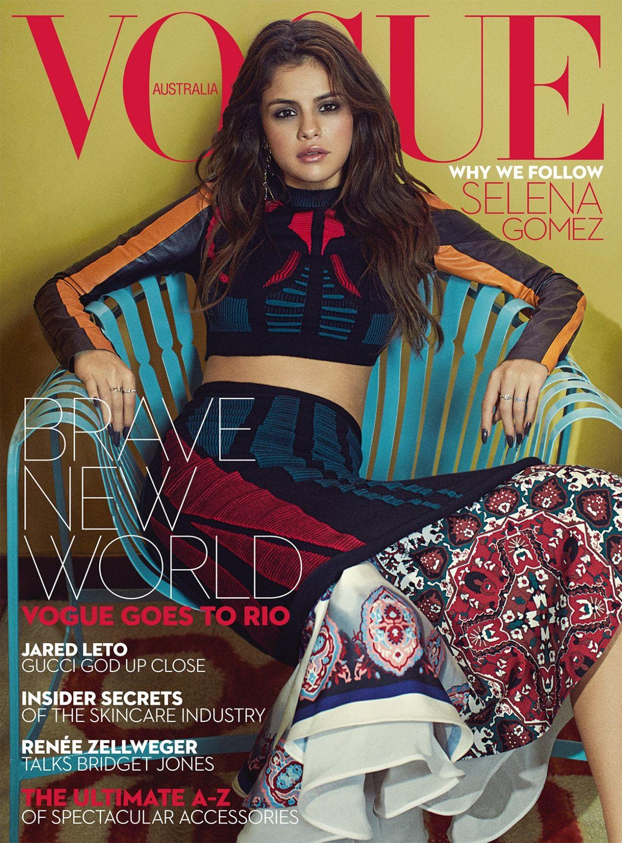 Vogue The Top Selling Fashion Magazine: Vogue Magazine Australia September 2016