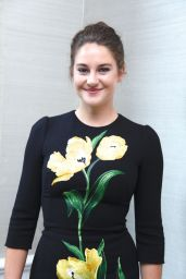 Shailene Woodley - 'Snowden' Press Conference in West Hollywood 8/27/2016